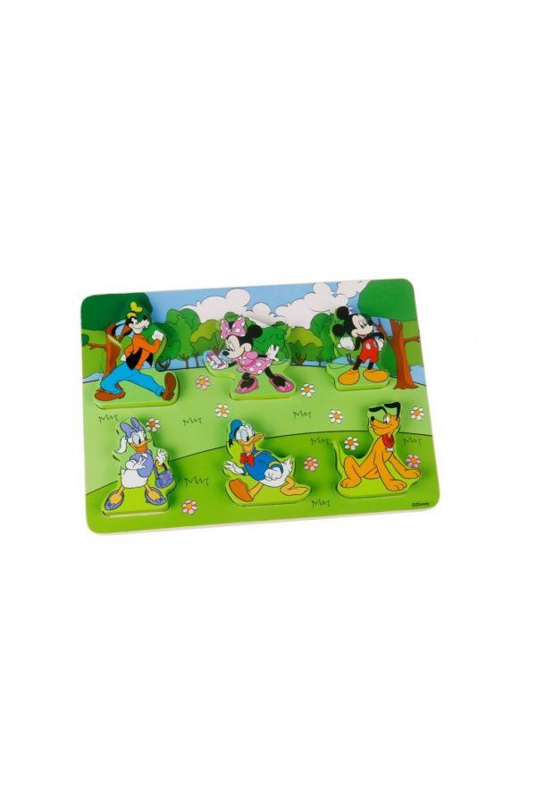 ΠΑΖΛ ΣΦΗΝΩΜΑΤΑ MICKEY  Tooky Toys 7pcs (DTY076)