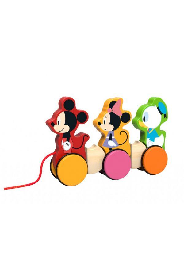 ΞΥΛΙΝΟ ΣΥΡΟΜΕΝΟ ΗΡΩΕΣ ΤΗΣ DISNEY Tooky Toys (DTY023)