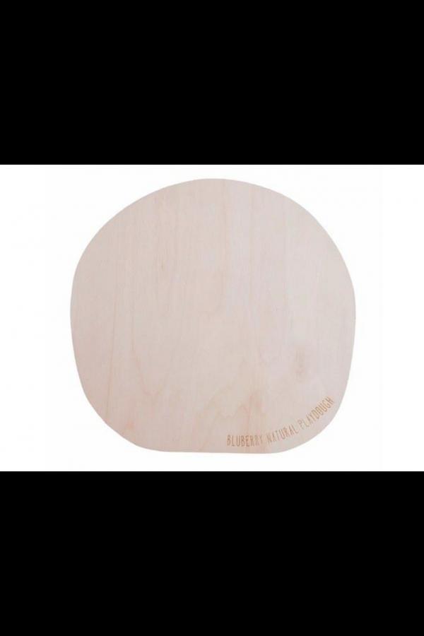 BLUBERRY WOODEN BOARD 42cm - ΞΥΛΙΝΟΣ ΠΑΓΚΟΣ ΓΙΑ ΠΛΑΣΤΕΛΙΝΗ