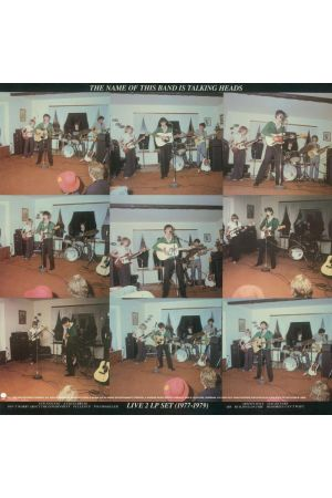 THE NAME OF THIS BAND IS TALKING HEADS (2LP LIMITED RED)