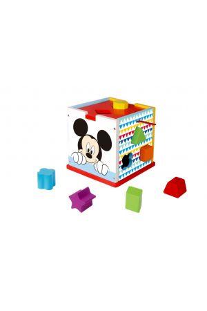 ΞΥΛΙΝΟΣ ΚΥΒΟΣ ΣΦΗΝΩΜΑΤΑ MICKEY Tooky Toys pcs (DTY006)