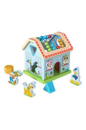 ΞΥΛΙΝΟ ΣΠΙΤΙ ΔΡΑΣΤΗΡΙΟΤΗΤΩΝ DISNEY Tooky Toys pcs (DTY050)