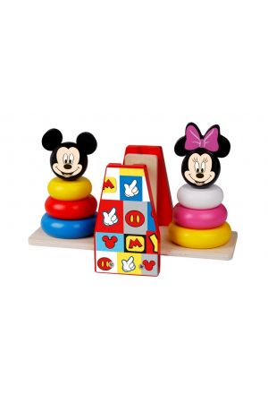 ΞΥΛΙΝΗ ΖΥΓΑΡΙΑ MICKEY & MINNIE Tooky Toys (DTY022)
