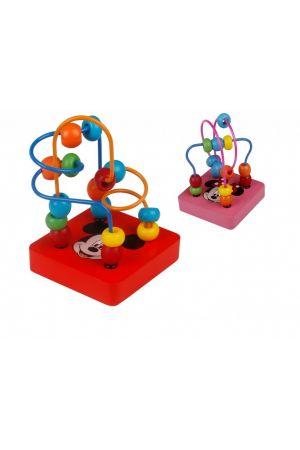 ΞΥΛΙΝΟΣ ΛΑΒΥΡΙΝΘΟΣ ΜΕ ΧΑΝΤΡΕΣ DISNEY DISPLAY 12 ΤΕΜ Tooky Toys (DTY079)