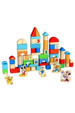 ΞΥΛΙΝΑ ΤΟΥΒΛΑΚΙΑ DISNEY 100 ΤΕΜ Tooky Toys (DTY011)