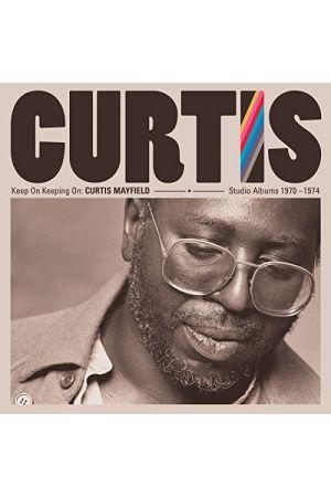 KEEP ON KEEPING ON CURTIS MAYFIELD STUDIO ALBUMS 1970-1974 (4LP)