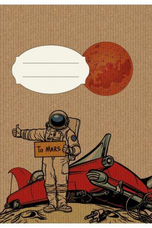 ΤΕΤΡΑΔΙΟ CRAFT TO MARS Α5