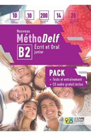 (PACK) NOUVEAU METHODELF B2, ECRIT ET ORAL (+CD+LIVRET DES TRANSCRIPTIONS+TESTS ET ENTRAINEMENT)