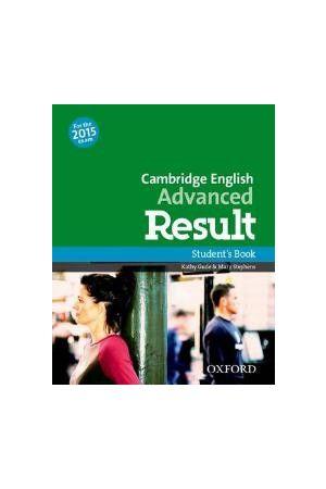 CAMBRIDGE ENGLISH ADVANCED RESULT SB N/E