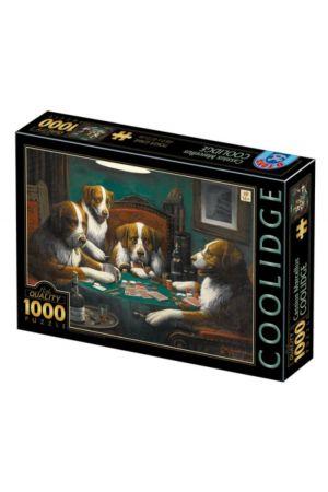 ΠΑΖΛ 1000 ΤΕΜΑΧΙΑ CASSIUS MARCELLUS COOLIDGE - POKER GAME