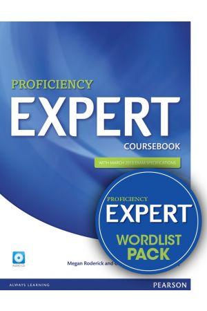 EXPERT PROFICIENCY STUDENT'S BOOK PACK ( + CD + WORDLIST)