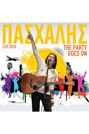 LIVE 2018 THE PARTY GOES ON - 2CD