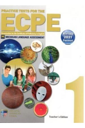 PRACTICE TESTS 1 ECPE TCHR'S REVISED 2021 FORMAT (+ 8 CDs)