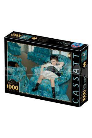 ΠΑΖΛ 1000 ΤΕΜΑΧΙΑ MARY CASSAT - LITTLE GIRL IN A BLUE ARMCHAIR 77387CA01