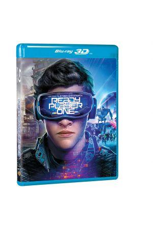 READY PLAYER ONE 3D BLU-RAY + 2D BLU-RAY (STEELBOOK)