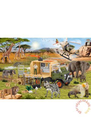 ΠΑΖΛ - SCHLEICH ANIMAL RESCUE (60 ΚΟΜΜΑΤΙΑ)