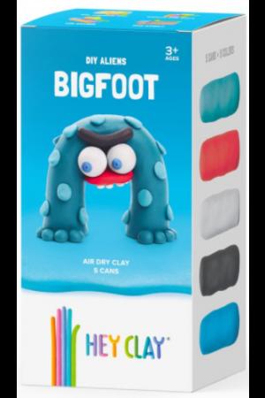 HEY CLAY CLAYMATES BIGFOOT