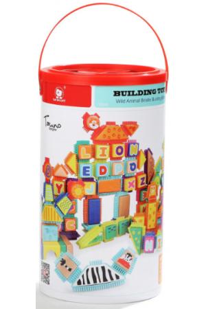 WILD ANIMAL BRISTLE BUILDING BLOCKS