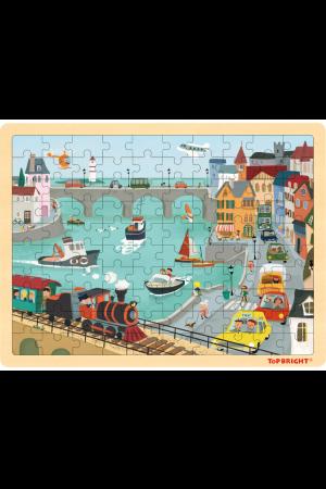 CITY TRAFFIC PUZZLE