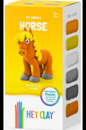 HEY CLAY CLAYMATES HORSE