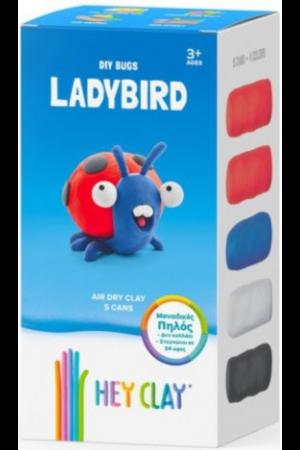 HEY CLAY CLAYMATES LADYBIRD