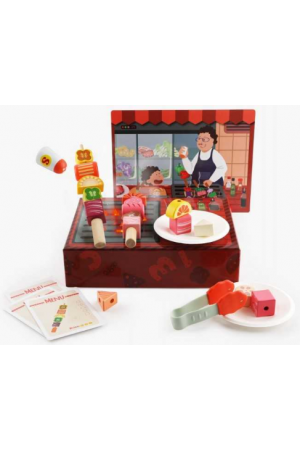 BBQ BOX SHAPE LEARNING TOY