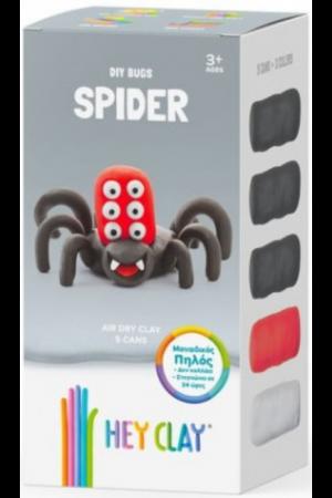 HEY CLAY CLAYMATES SPIDER