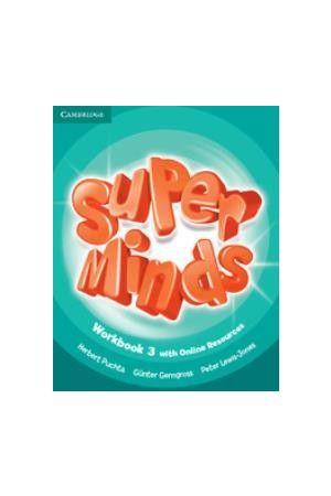 SUPER MINDS 3 WORKBOOK (+ ONLINE RESOURCES)