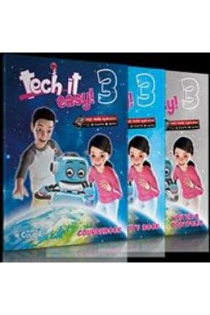 TECH IT EASY 3 ΠΑΚΕΤΟ ΜΕ I-BOOK + REVISION BOOK ME CD