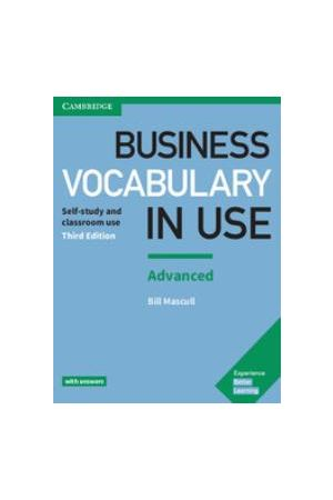 BUSINESS VOCABULARY IN USE ADVANCED SB WITH ANSWERS 3RD EDITION