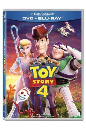 TOY STORY 4: Η ΙΣΤΟΡΙΑ ΤΩΝ ΠΑΙΧΝΙΔΙΩΝ 4  (DVD + BLU-RAY COMBO)
