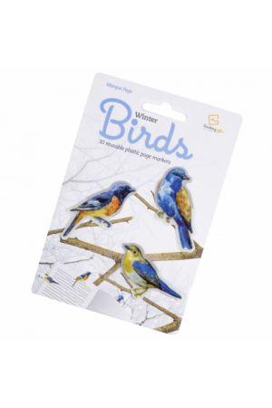 ΣΕΛΙΔΟΔΕΙΚΤΗΣ STIKKI MARKS WINTER BIRDS