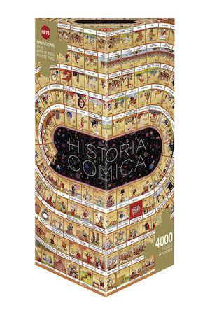 ΠΑΖΛ DEGANO CARTOON ΙΣΤΟΡΙΑ 2010 ΧΡΟΝΙΑ μ.Χ. (ΤΡΙΓΩΝΟ ΚΟΥΤΙ - 4000 ΚΟΜΜΑΤΙΑ)