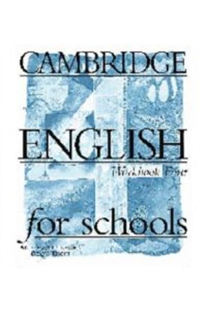 CAMBRIDGE ENGLISH FIRST FOR SCHOOLS 4 TCHR'S WB