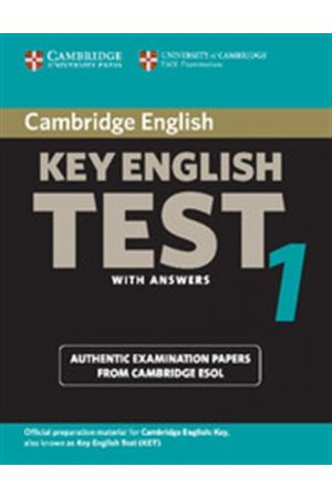 CAMBRIDGE KEY ENGLISH TEST 1 STUDENT'S BOOK WITH ANSWERS 2ND EDITION