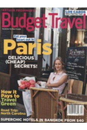 ARTHUR FROMMER'S BUDGET TRAVEL USA APRIL 2009