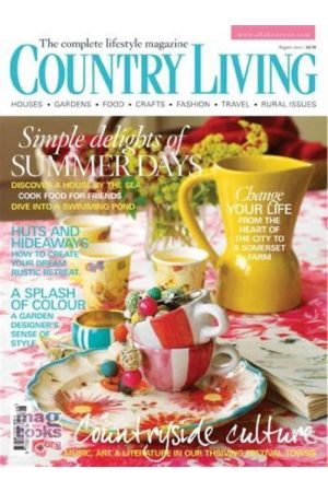 COUNTRY LIVING UK AUGUST 2010
