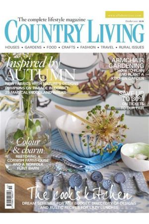 COUNTRY LIVING UK OCTOBER 2010