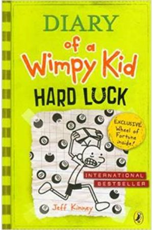 DIARY OF A WIMPY KID 8: HARD LUCK PAPERBACK