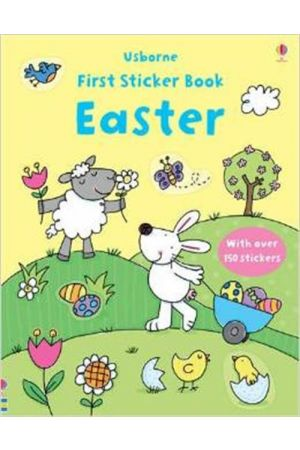 FIRST STICKER BOOK EASTER (+ STICKERS) PAPERBACK