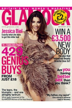 GLAMOUR AUGUST 2010 UK