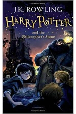 HARRY POTTER 1: AND THE PHILOSOPHER'S STONE N/E PAPERBACK B FORMAT
