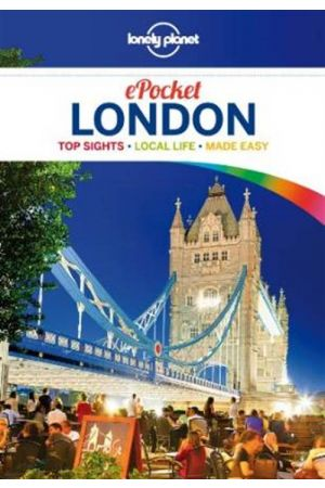 LONELY PLANET POCKET: LONDON 4TH ED PAPERBACK B FORMAT