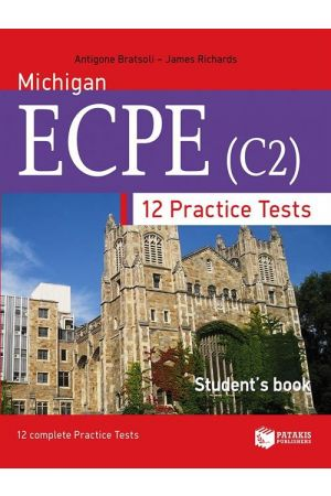 12 PRACTICE TESTS FOR MICHIGAN ECPE (C2) - STUDENTS BOOK