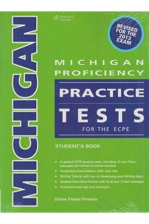 MICHIGAN PROFICIENCY PRACTICE TESTS ECPE (+GLOSSARY) 2013