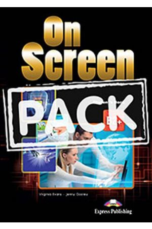 ON SCREEN B2+ STUDENT'S PACK (STUDENT'S BOOK-ieBOOK-WRITING BOOK) 2015 REVISED