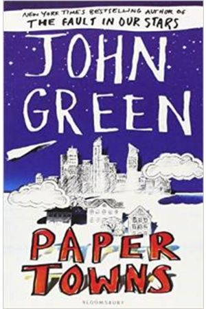 PAPER TOWNS REISSUE PAPERBACK B FORMAT
