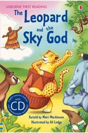 THE LEOPARD AND THE SKY GOD (WITH CD) PRIMARY LEVEL B