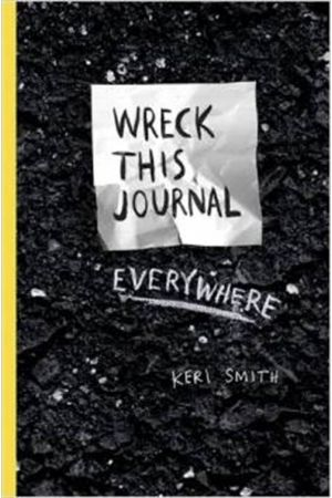 WRECK THIS JOURNAL EVERYWHERE PAPERBACK