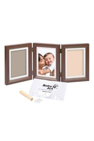 DOUBLE PRINT FRAME BROWN AND TAUPE/BEIGE